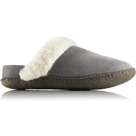 Sorel Nakiska Slide II Slippers Dame Quarry/Natural